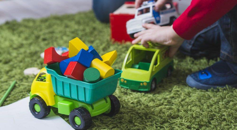 ¿Dónde guardar los juguetes de los niños?