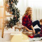 Trastero en Navidad