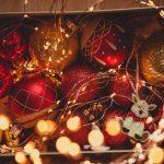 Cómo guardar la decoración navideña