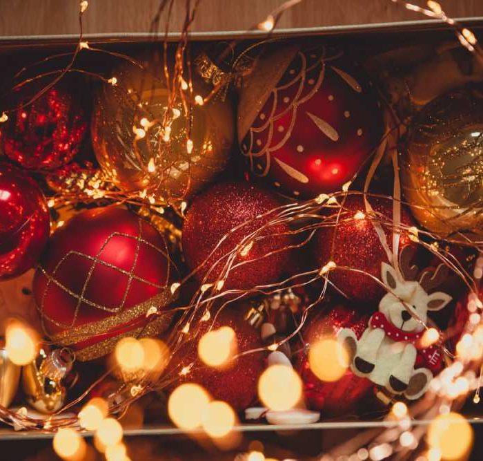 Y ahora… ¿dónde guardar la decoración navideña?