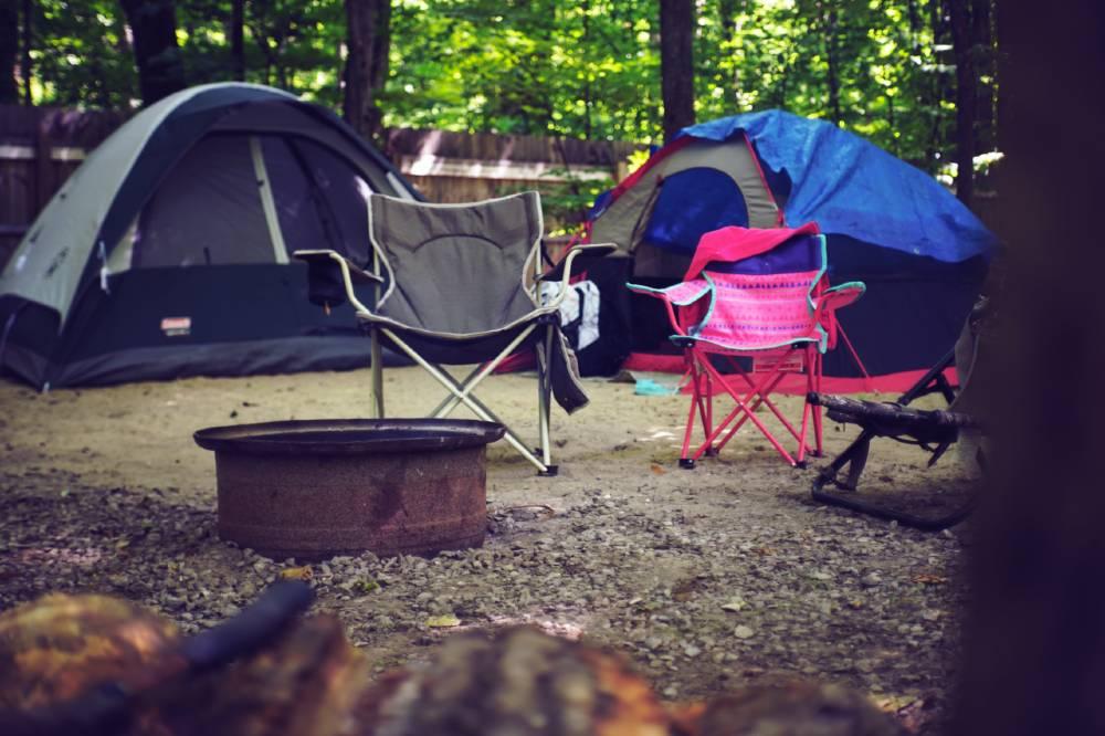 Como guardar el material de acampada